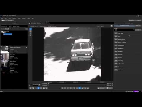 How to Enhance Low Quality CCTV Footage of a License Plate with Ikena Forensic