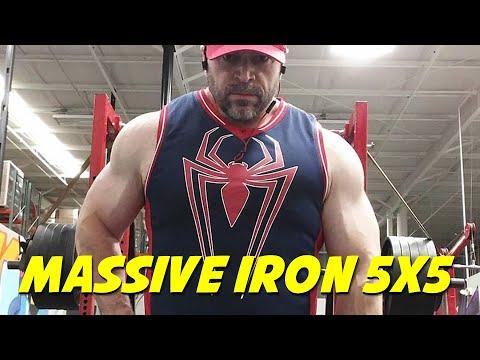 The Massive Iron 5x5 Powerbuilding Workout