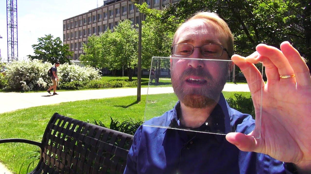 Transparent Solar Panels Michigan State University Youtube