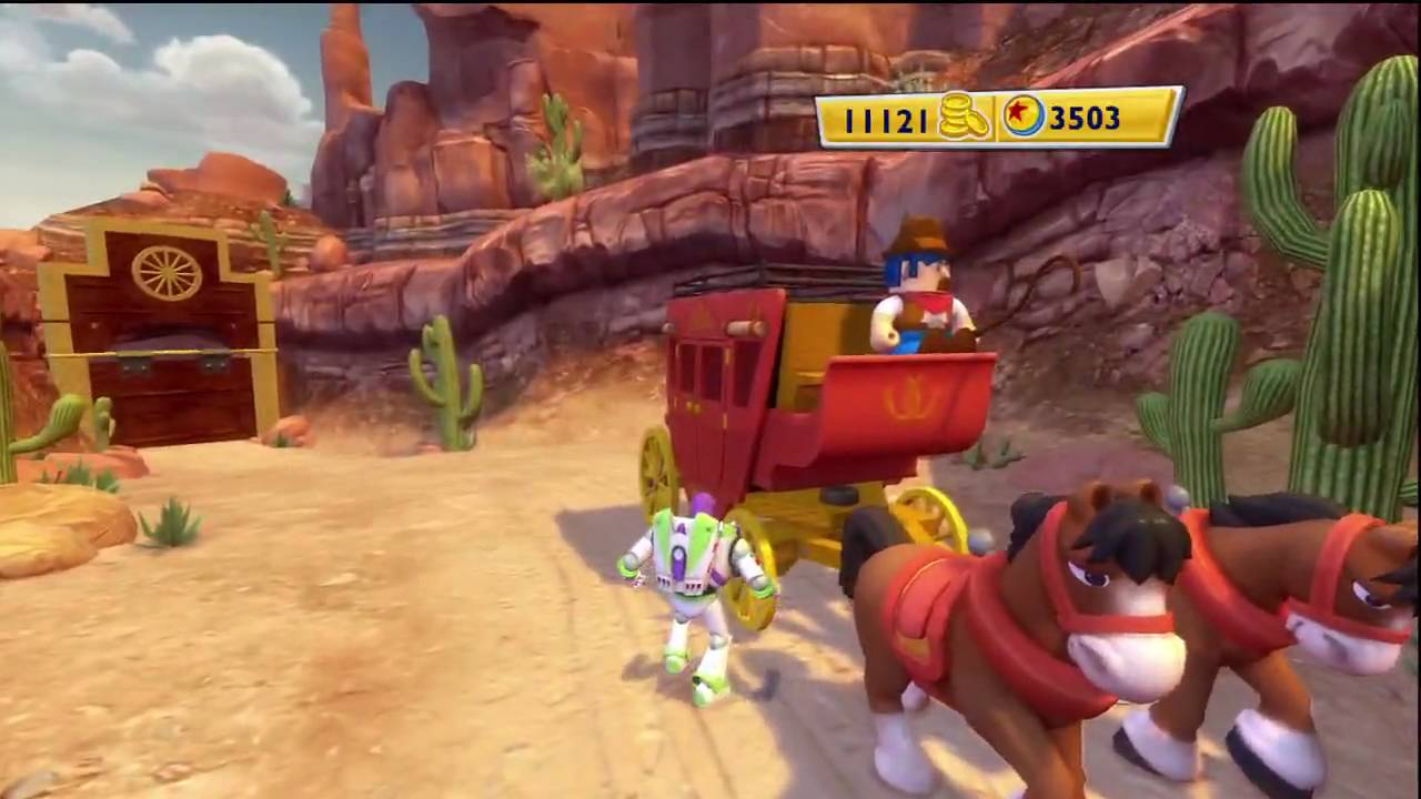 Toy Story 3 Video Game Woody S Roundup Part 4 Youtube