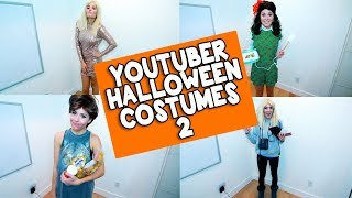 YOUTUBER HALLOWEEN COSTUMES 2 // Grace Helbig