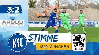 KSC-Stimme nach 1860 München (16. Spieltag)