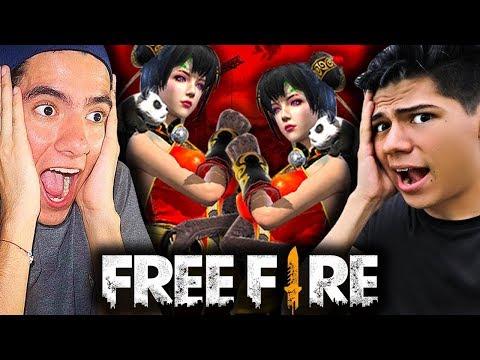 ¡DOS CHICAS Y DOS TONTOS en Free Fire! - TheDonato y Antrax 💚