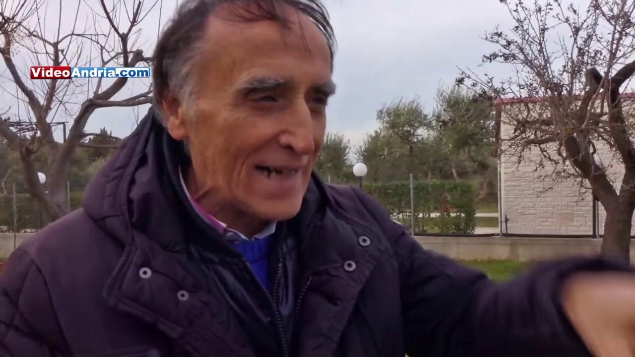 Puglia: l'andriese che da solo ha piantato 100 alberi senza spendere 1 euro. Ecco come