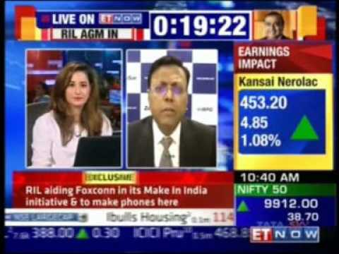 Sandeep Kishore, CEO and MD, Zensar Technologies discusses the Q1FY18 Earnings snapshot with ETNow