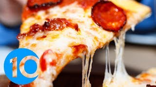 Pizza is officially America's favorite food