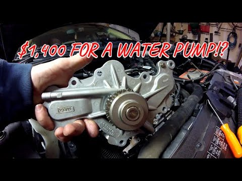 Why does the Ford Taurus 3 5L water pump cost $1400?