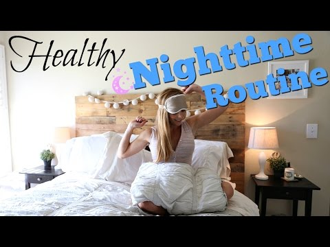 My Healthy Night Routine | Fit Life Hacks!