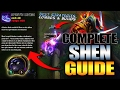 SHEN SEASON 7 FULL GUIDE   Best Builds, Best Combos, Best Strategies and Tips - League Of Legends