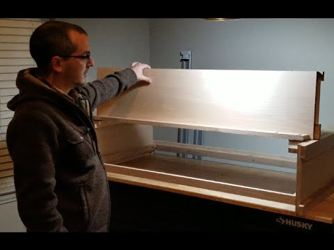 How To Build An Aquarium Canopy - With An Open Top While The Lid Is Closed?!