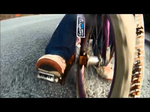 Kids Pedal Break Front Drift Trike Wheel On Forks.  - The Test Ride - By JACEonDRIFT