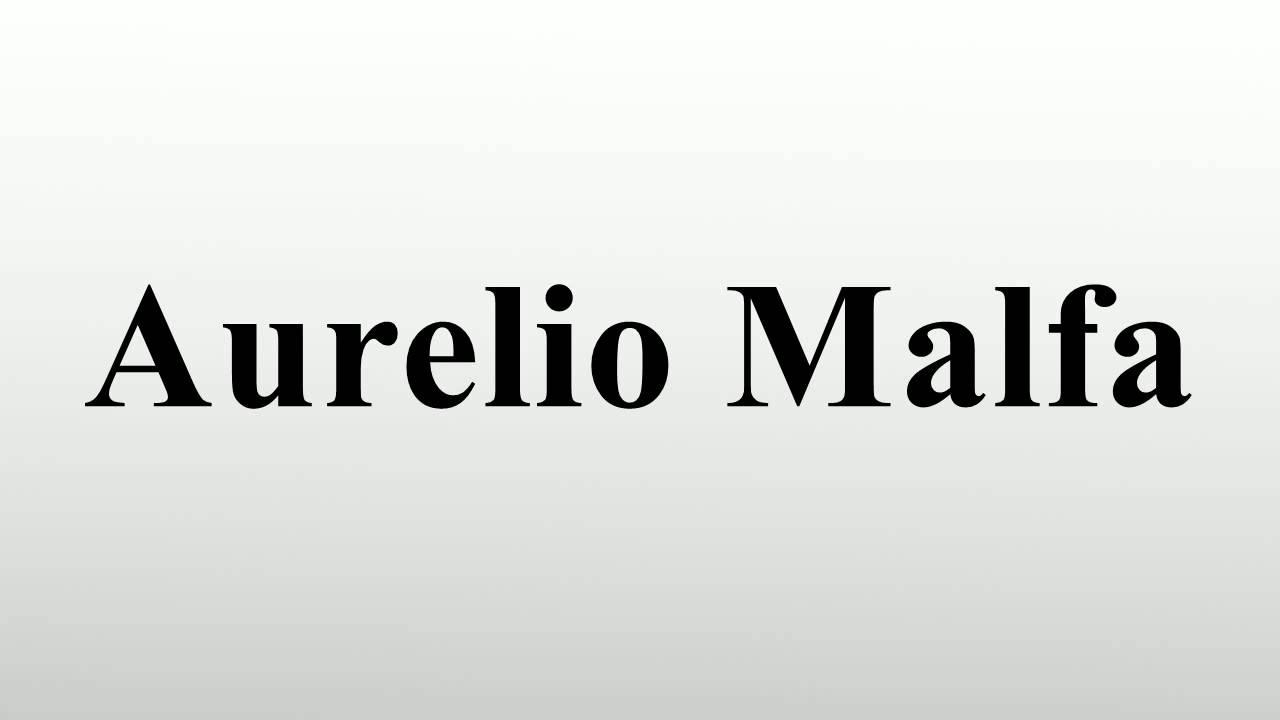 Aurelio Malfa