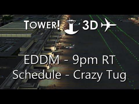 Tower!3D Pro - EDDM 9pm RT Schedule - Crazy TUG |