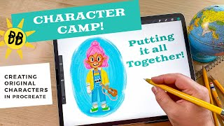Procreate Character Camp! // How to Draw a Character: Putting it All Together
