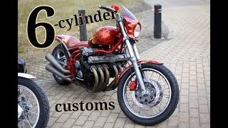 6-Cylinder Custom Bikes !