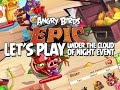 Lets Play Angry Birds Epic Under the Cloud of Night Event - Super Hard Ninja Pigs