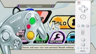 Super Smash Bros. Brawl: GameCube Vs Wii Remote