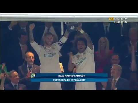 Real Madrid 2-0 Barcelona Supercopa de España(vuelta) - Directv sports