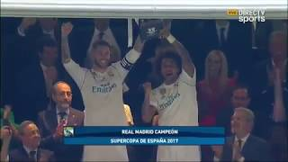 Real Madrid 2-0 Barcelona Supercopa de España(vuelta) - Directv sports