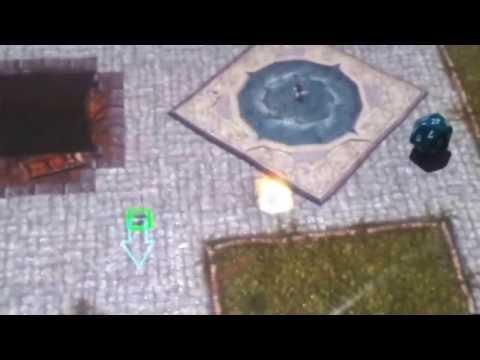 Homemade digital game table