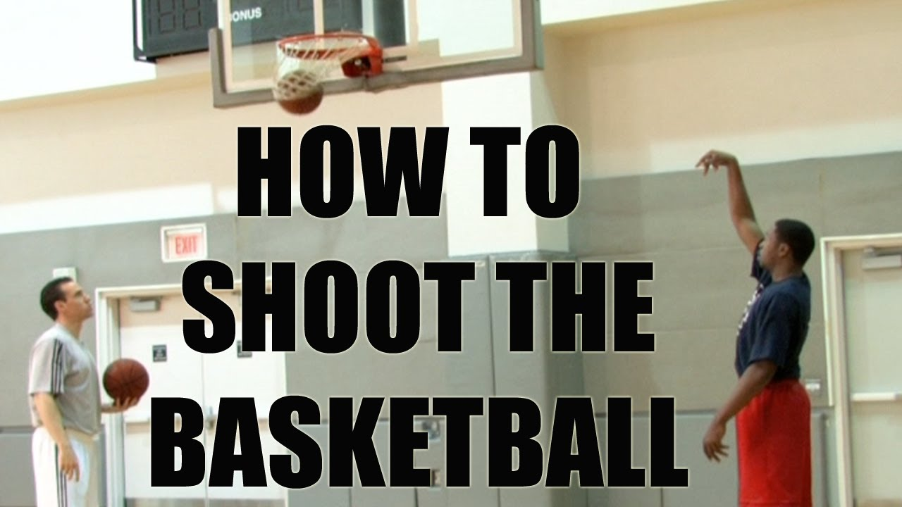 Basketball shooting tips and drills. Form shooting with ...