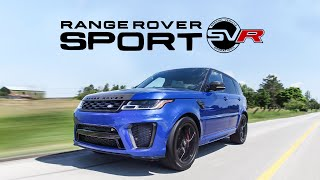 2018 Range Rover Sport SVR Review - It