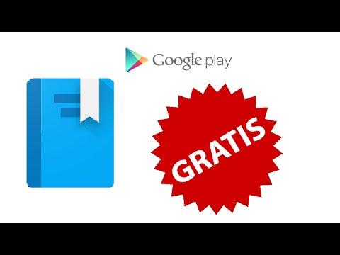 Como tener libros en Google Play Books Android ¡GRATIS!