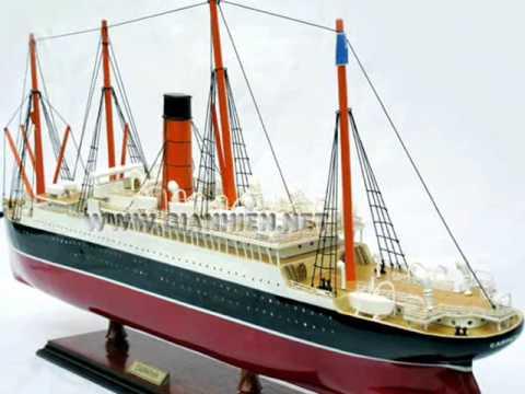 RMS CARPATHIA - VIETNAM GIA NHIEN BOAT BUILDER