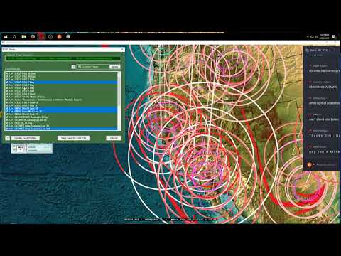 8/22/2017 -- California Earthquake at Split Cinder Cone Volcano -- Unrest Building on the coast