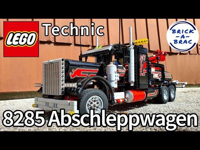LEGO® Technic 8285 Abschleppwagen - eines der besten LEGO® Technic Sets aller Zeiten? [Review]