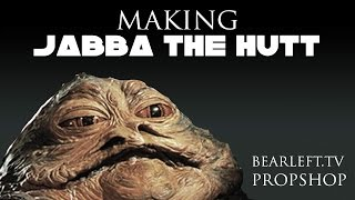 Making Jabba the Hutt - Bearleft.tv Prop Shop
