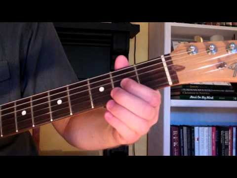 Video - How To Play the Fmaj9 Chord On Guitar (F major ninth) 9th