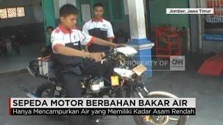 Sepeda Motor Berbahan Bakar Air Karya Siswa Jember