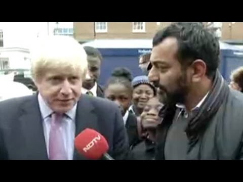 NDTV exclusive: Interview with Boris Johnson