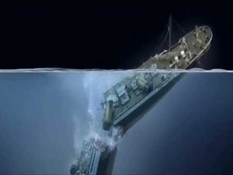 TITANIC WRECK SITE  A very sad final