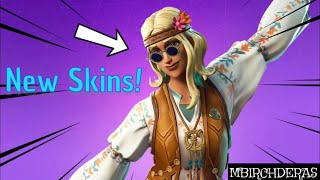 New Fortnite Dreamflower, Far Out Man Skins And Gameplay