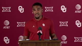OU Football: Jalen Hurts on Texas and West Virginia