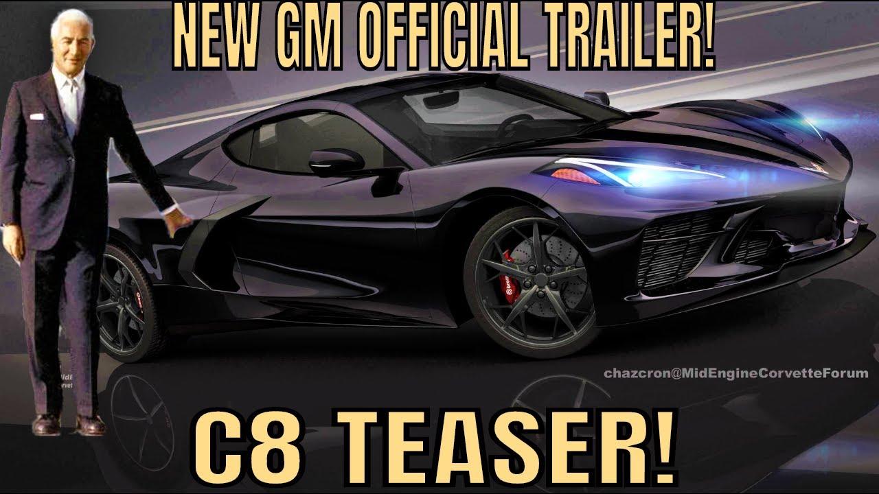 New! GM's Full-LENGTH Official C8 Mid Engine Corvette TEASER TRAILER!