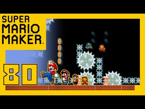 Let's Play Super Mario Maker [Eure Level] Part 80 - Ausgegrabene Nachrichten mit BuFaw