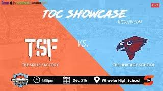 2019 TOC Showcase - The Heritage School vs. TSF (KAI SOTTO vs. EBE DOWUONA)