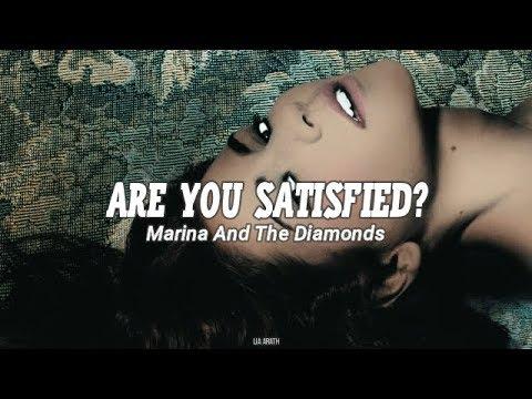 Marina And The Diamonds - Are You Satisfied? (Español/Lyrics)