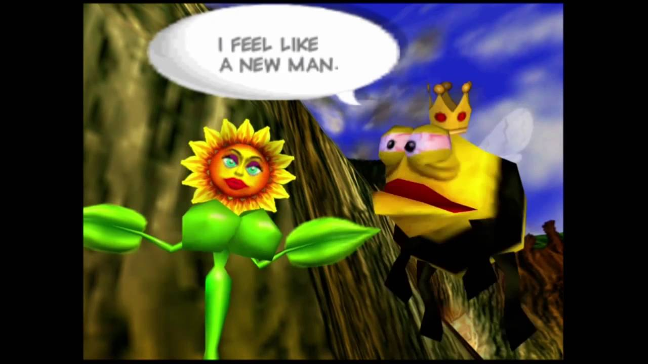 Sunflower Scenes! (Conker's Bad Fur Day - Clip 22) - YouTube