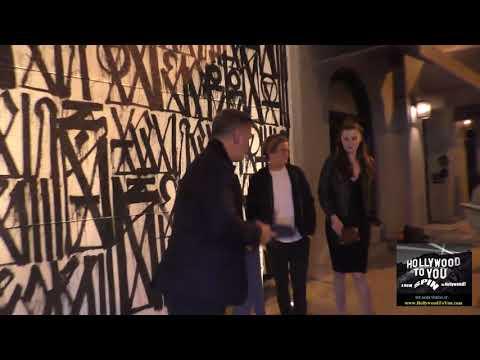 Alec Baldwin and Ireland Baldwin has dinner at Craig's Restaurant in West Hollywood