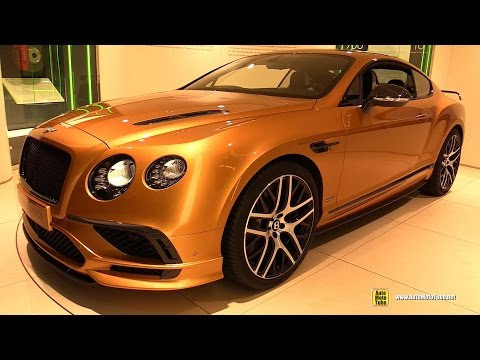 2017 Bentley Continental SuperSports - Exterior and Interior Walkaround - 2017 Geneva Motor Show