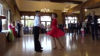 Pokaz taneczny na weselu
