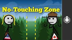 Canada & The United States (Bizarre Borders Part 2)