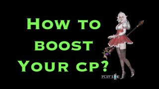 How To Boost Your CP LineAge 2 Revolution