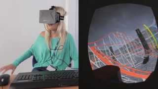 The general public tries out the Oculus Rift virtual rollercoaster