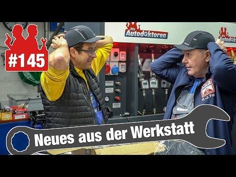 Notfall-Golf mit gebrochener Achsaufnahme eingeschleppt! | Audi-A4-Motor springt beim Gasgeben hoch