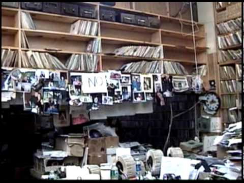 Lively Val Shively at his R&B Records Shop